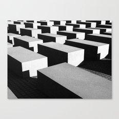 Berlin holocaust Canvas Print