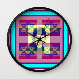 LEONARD NIMOY/POP ART/JUDAICA Wall Clock