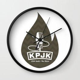KPJK Radio - twin peaks episode 8 Wall Clock