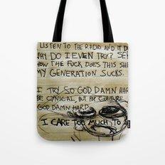 Scribbles Tote Bag