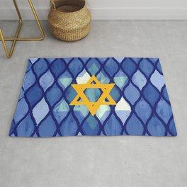 Jewish Celebration Rug