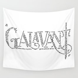 Galavant Fan Lyrics Wall Tapestry