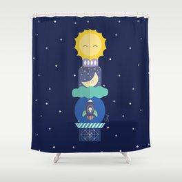 Totem Shower Curtain