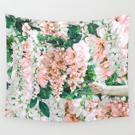 1992 Floral Delivery Wall Tapestry