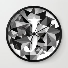 J for Wall Clock