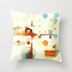 The Quiet Throw Pillow