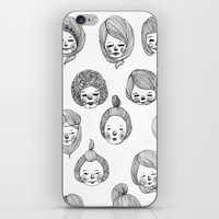 gilmore girls iPhone & iPod Skins featuring Girls by Young Ju
