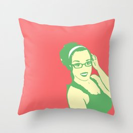 self portrait 2 Throw Pillow