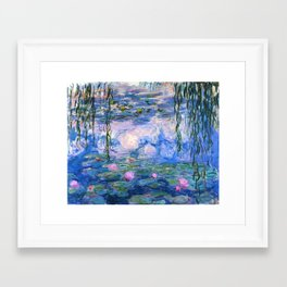 Water Lilies Monet Framed Art Print