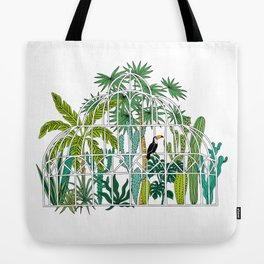 Royal greenhouse Tote Bag