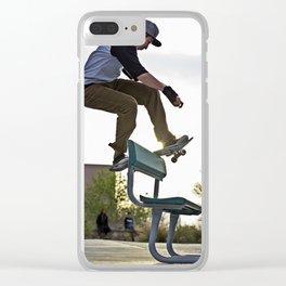 FS Boardslide Clear iPhone Case