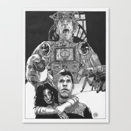 The City of Lost Children (Naked Colorway) Canvas Print