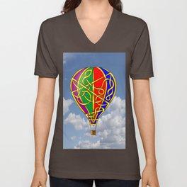 Balloon Knot Unisex V-Neck