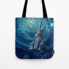 Portrait of a Kingdom: Beast's Castle  Tote Bag