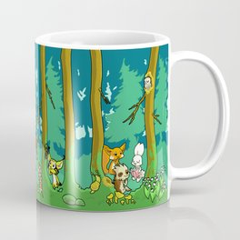 Deep inside the Forest Coffee Mug