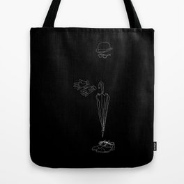 Another fine day in London, rain, cold and misery Tote Bag