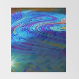 Soap Bubble 5 Throw Blanket