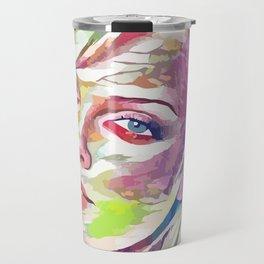 Charlize Theron (Creative Illustration Art) Travel Mug