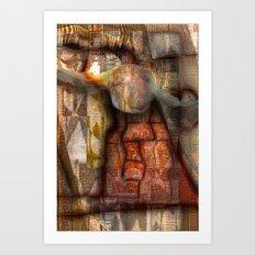 Ethnic Gyration Art Print