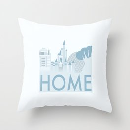 The Parks Are Home Throw Pillow