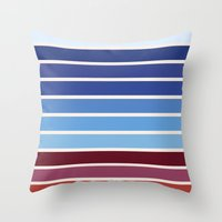 ponyo Throw Pillows featuring The colors of - Ponyo by hyos