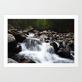 four waters of iao valley Art Print