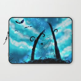 Spider's Enchanted Night Laptop Sleeve