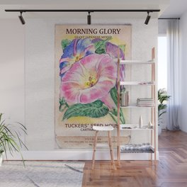 Morning Glory Seed Pack Wall Mural
