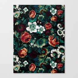 Midnight Garden VIII Canvas Print