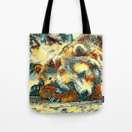 AnimalArt_Bear_20170602_by_JAMColorsSpecial Tote Bag
