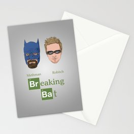 Breaking Bat Stationery Cards