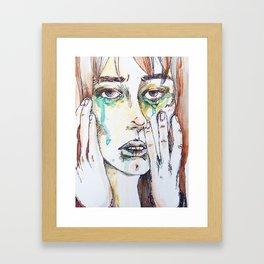 Mournings Framed Art Print