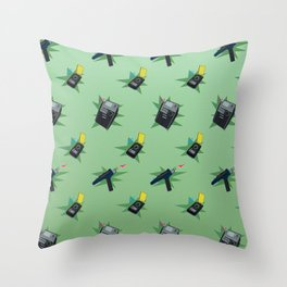 To Boldly Have Gone Throw Pillow