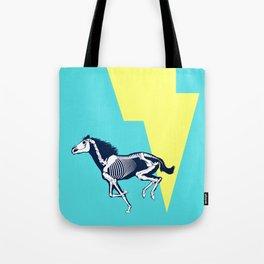 Electro Horse Tote Bag