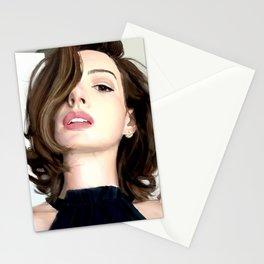 Pretty girl selfie Stationery Cards