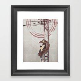 Forecast Lows Framed Art Print