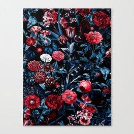 EXOTIC GARDEN - NIGHT X Canvas Print