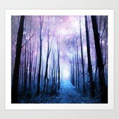 Fantasy Forest Path Art Print
