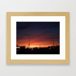 Night Skyy Framed Art Print