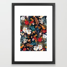 EXOTIC GARDEN - NIGHT XXII Framed Art Print