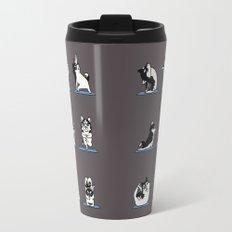 Husky Yoga Travel Mug