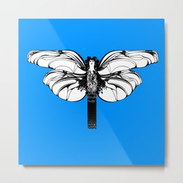 "Koloman (Kolo) Moser ""Butterfly design"" (2) Metal Print"