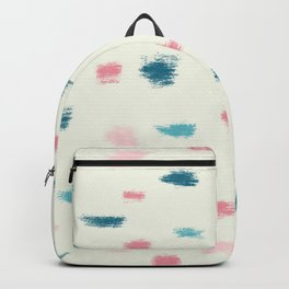 Terrazzo from brush strokes 1 Backpack