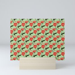 Couple of roses Mini Art Print