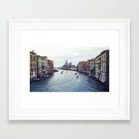 venice Framed Art Prints featuring Venice by Rhianna Power