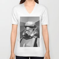 stormtrooper V-neck T-shirts featuring Stormtrooper by Filip Peraić