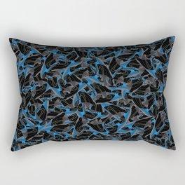"""KB Zoom 5 """"TDK"""" - Collage Print Rectangular Pillow"""