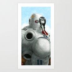 eyed Art Print