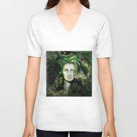 ireland V-neck T-shirts featuring Ireland by Holly Carton