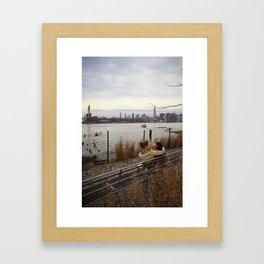 Wburg Lovers Framed Art Print